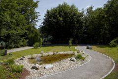 Katholischer Waldfriedhof Schildgen - Wassergarten