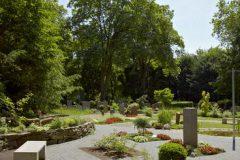 Evangelischer Friedhof Quirlsberg - Partnergarten