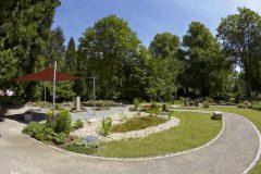 Evangelischer Friedhof Quirlsberg - Wassergarten