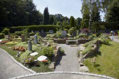 Katholischer Waldfriedhof Schildgen - Steingarten